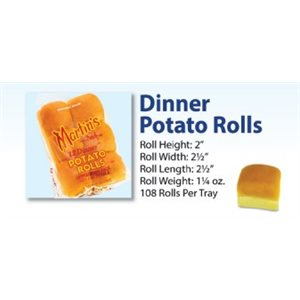 Martin's Potato Dinner Rolls 9 / 12pc