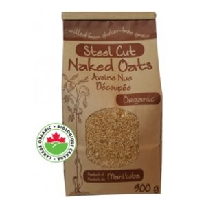 Adagio Acres Organic Steel Cut Naked Oats 6 / 900g