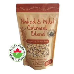 Adagio Acres Organic Naked & Wild Oatmeal Blend 6 / 375g